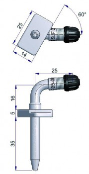 Вентиль регулирующий фланцевый  R-2102-2